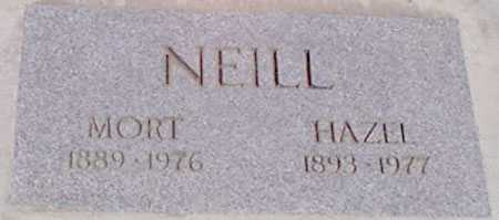 NEILL, HENRY MORTIN (MORT) - Baker County, Oregon | HENRY MORTIN (MORT) NEILL - Oregon Gravestone Photos