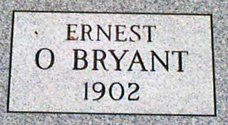 O'BRYANT, ERNEST - Baker County, Oregon | ERNEST O'BRYANT - Oregon Gravestone Photos
