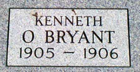 O'BRYANT, KENNETH MAURICE - Baker County, Oregon | KENNETH MAURICE O'BRYANT - Oregon Gravestone Photos