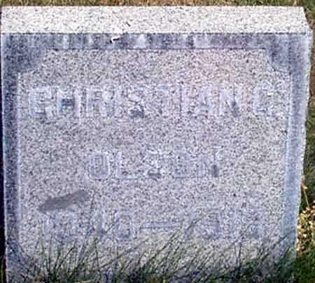 OLSON, CHRISTIAN CHRISTOPHER - Baker County, Oregon   CHRISTIAN CHRISTOPHER OLSON - Oregon Gravestone Photos