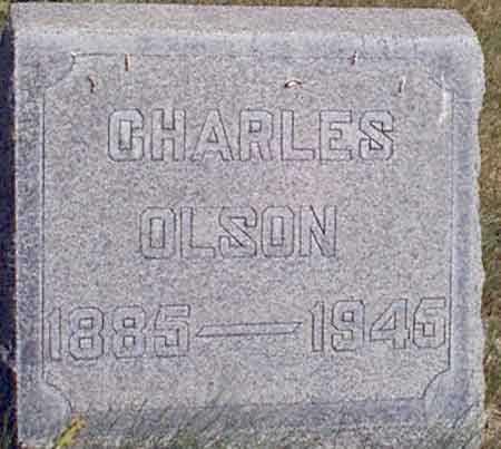 OLSON, CHARLES - Baker County, Oregon | CHARLES OLSON - Oregon Gravestone Photos