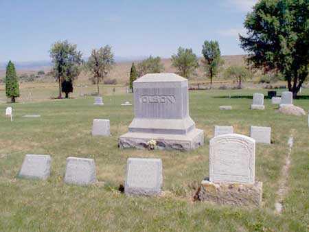 OLSON, FAMILY LOT - Baker County, Oregon | FAMILY LOT OLSON - Oregon Gravestone Photos