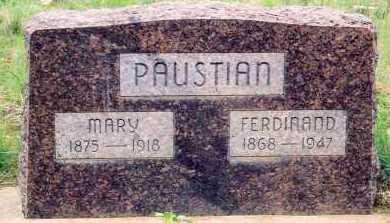 PAUSTIAN, MARY - Baker County, Oregon | MARY PAUSTIAN - Oregon Gravestone Photos