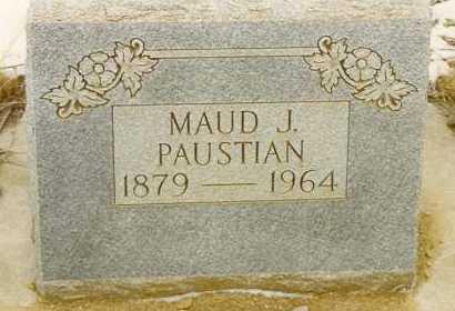PAUSTIAN, MAUD J. - Baker County, Oregon | MAUD J. PAUSTIAN - Oregon Gravestone Photos