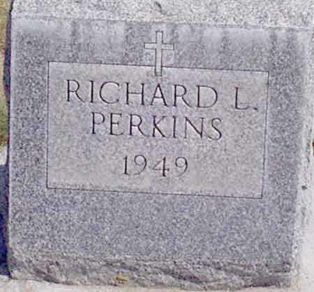 PERKINS, RICHARD LORING - Baker County, Oregon | RICHARD LORING PERKINS - Oregon Gravestone Photos