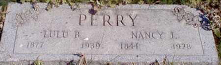 PERRY, LULU B. - Baker County, Oregon   LULU B. PERRY - Oregon Gravestone Photos