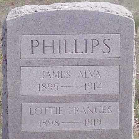 PHILLIPS, LOTTIE FRANCES - Baker County, Oregon   LOTTIE FRANCES PHILLIPS - Oregon Gravestone Photos