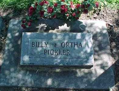 PICKLER, ORTHA ROYALINE - Baker County, Oregon | ORTHA ROYALINE PICKLER - Oregon Gravestone Photos