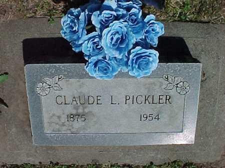 PICKLER, CLAUDE LEROY (ROY) - Baker County, Oregon | CLAUDE LEROY (ROY) PICKLER - Oregon Gravestone Photos