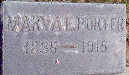 PORTER, MARY A. E. - Baker County, Oregon | MARY A. E. PORTER - Oregon Gravestone Photos
