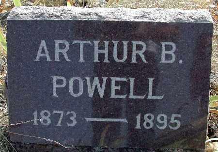 POWELL, ARTHUR B - Baker County, Oregon   ARTHUR B POWELL - Oregon Gravestone Photos