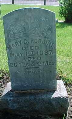 ROBBINS, MARY CATHERINE - Baker County, Oregon | MARY CATHERINE ROBBINS - Oregon Gravestone Photos
