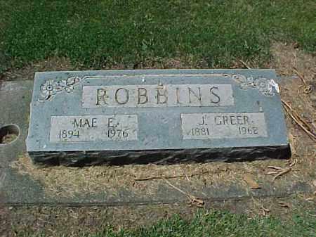 ROBBINS, MAE E. - Baker County, Oregon | MAE E. ROBBINS - Oregon Gravestone Photos