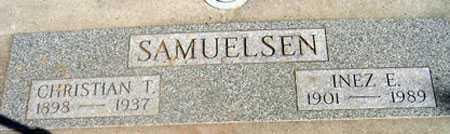 LEMONS SAMUELSEN, INEZ ELNORA - Baker County, Oregon | INEZ ELNORA LEMONS SAMUELSEN - Oregon Gravestone Photos