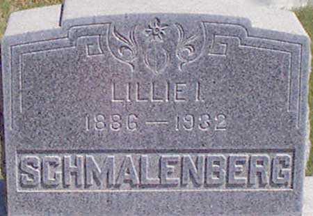 SCHMALENBERG, LILLIAN IRENE (LILLIE) - Baker County, Oregon | LILLIAN IRENE (LILLIE) SCHMALENBERG - Oregon Gravestone Photos