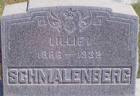 SCHMALENBERG, LILLIAN IRENE (LILLIE) - Baker County, Oregon | LILLIAN IRENE (LILLIE) SCHMALENBERG - Oregon Gravestone Photos