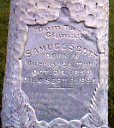 SCOTT, SAMUEL - Baker County, Oregon | SAMUEL SCOTT - Oregon Gravestone Photos