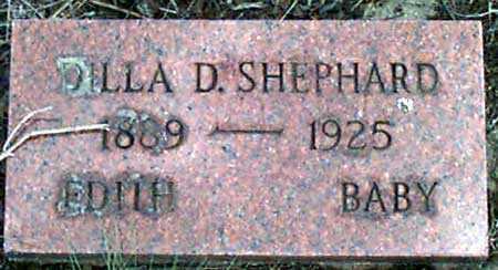 SHEPHARD, DILLA D. - Baker County, Oregon | DILLA D. SHEPHARD - Oregon Gravestone Photos