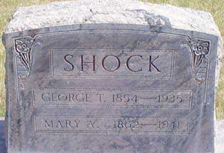 SHOCK, GEORGE THOMAS - Baker County, Oregon | GEORGE THOMAS SHOCK - Oregon Gravestone Photos