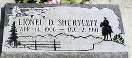 SHURTLEFF, LIONEL D'ACRE - Baker County, Oregon | LIONEL D'ACRE SHURTLEFF - Oregon Gravestone Photos