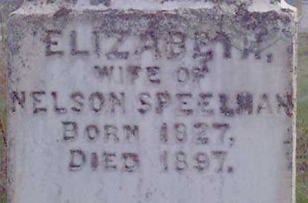 SPEELMAN, ELIZABETH - Baker County, Oregon | ELIZABETH SPEELMAN - Oregon Gravestone Photos