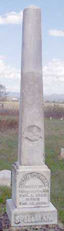 SPEELMAN, FAMILY - Baker County, Oregon | FAMILY SPEELMAN - Oregon Gravestone Photos