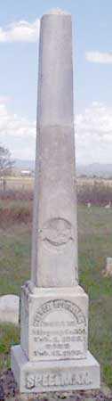 SPEELMAN, FAMILY - Baker County, Oregon   FAMILY SPEELMAN - Oregon Gravestone Photos