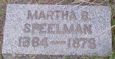 SPEELMAN, MARTHA BELLE - Baker County, Oregon | MARTHA BELLE SPEELMAN - Oregon Gravestone Photos