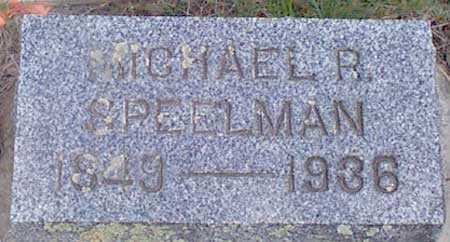 SPEELMAN, MICHAEL R. - Baker County, Oregon | MICHAEL R. SPEELMAN - Oregon Gravestone Photos