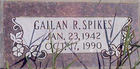 SPIKES (VN), GAILAN R. - Baker County, Oregon | GAILAN R. SPIKES (VN) - Oregon Gravestone Photos