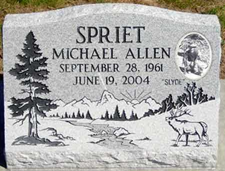SPRIET, MICHAEL ALLEN (SLYDE) - Baker County, Oregon | MICHAEL ALLEN (SLYDE) SPRIET - Oregon Gravestone Photos