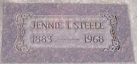 STEELE, JENNIE I. - Baker County, Oregon | JENNIE I. STEELE - Oregon Gravestone Photos