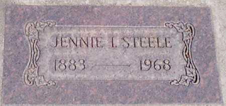 STEELE, JENNIE I. - Baker County, Oregon | JENNIE I. STEELE - Oregon Gravestone Photos