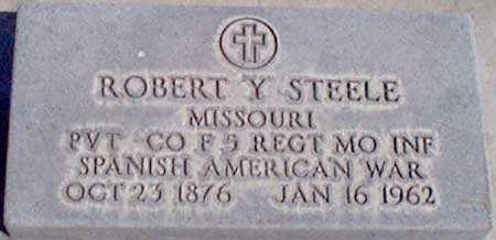 STEELE (SA), ROBERT Y. - Baker County, Oregon | ROBERT Y. STEELE (SA) - Oregon Gravestone Photos