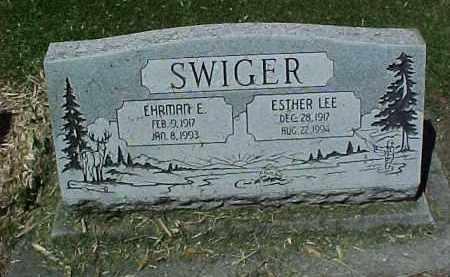 SWIGER, ESTHER LEE - Baker County, Oregon | ESTHER LEE SWIGER - Oregon Gravestone Photos