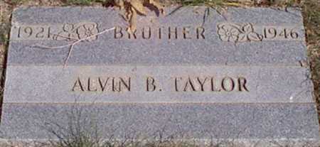 TAYLOR, ALVIN B. - Baker County, Oregon   ALVIN B. TAYLOR - Oregon Gravestone Photos