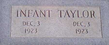 TAYLOR, INFANT - Baker County, Oregon | INFANT TAYLOR - Oregon Gravestone Photos