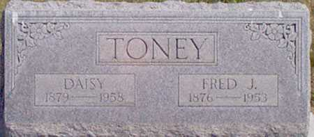 TONEY, FRED J. - Baker County, Oregon | FRED J. TONEY - Oregon Gravestone Photos