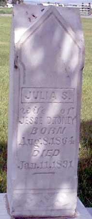 TONEY, JULIA S. - Baker County, Oregon | JULIA S. TONEY - Oregon Gravestone Photos