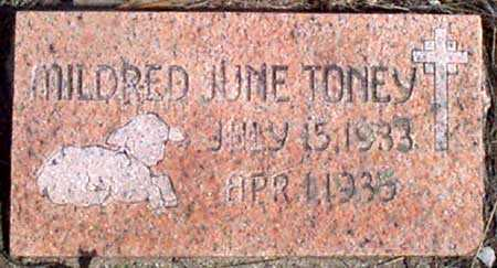 TONEY, MILDRED JUNE - Baker County, Oregon | MILDRED JUNE TONEY - Oregon Gravestone Photos