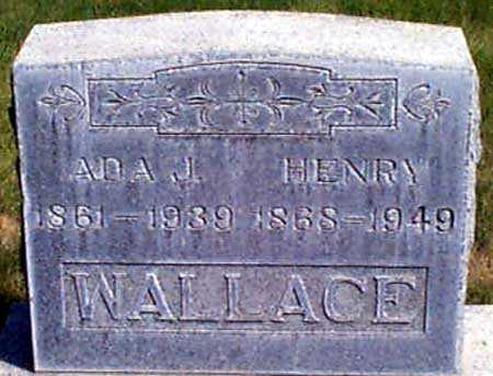 WILLIAMS WALLACE, ADA JANE - Baker County, Oregon | ADA JANE WILLIAMS WALLACE - Oregon Gravestone Photos