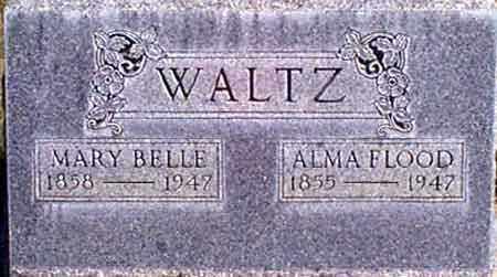 CARTER WALTZ, MARY BELLE - Baker County, Oregon | MARY BELLE CARTER WALTZ - Oregon Gravestone Photos