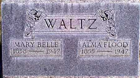 WALTZ, ALMA FLOOD - Baker County, Oregon | ALMA FLOOD WALTZ - Oregon Gravestone Photos
