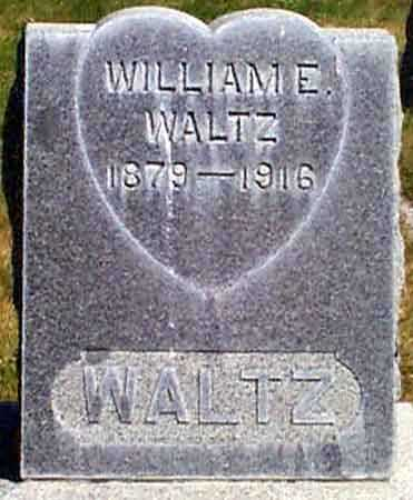 WALTZ, WILLIAM E. - Baker County, Oregon | WILLIAM E. WALTZ - Oregon Gravestone Photos