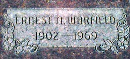 WARFIELD, ERNEST N. - Baker County, Oregon   ERNEST N. WARFIELD - Oregon Gravestone Photos
