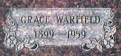 JACOBY WARFIELD, GRACE EVELYN - Baker County, Oregon | GRACE EVELYN JACOBY WARFIELD - Oregon Gravestone Photos