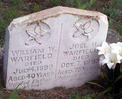 WARFIELD, JOEL H. - Baker County, Oregon | JOEL H. WARFIELD - Oregon Gravestone Photos