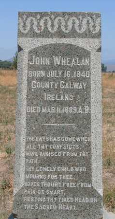 WHEALAN, JOHN - Baker County, Oregon | JOHN WHEALAN - Oregon Gravestone Photos