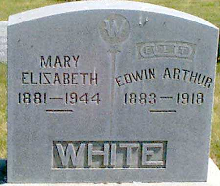 WHITE, EDWIN ARTHUR - Baker County, Oregon   EDWIN ARTHUR WHITE - Oregon Gravestone Photos