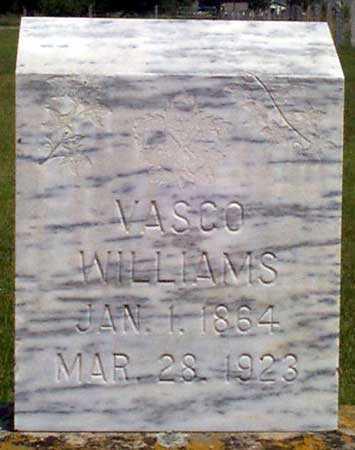 WILLIAMS, VASCO - Baker County, Oregon   VASCO WILLIAMS - Oregon Gravestone Photos